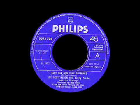 Gil Scott Heron - Lady Day And John Coltrane