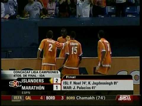 Puerto Rico Islanders 2-1 CD Marathon