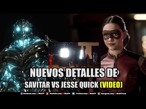 Savitar VS Jesse Quick Flash Temporada 3 Noticias Geek TV