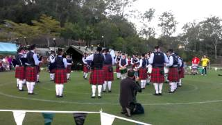 Queensland Highlanders Medley - BBC Pipe Band Competition 2014