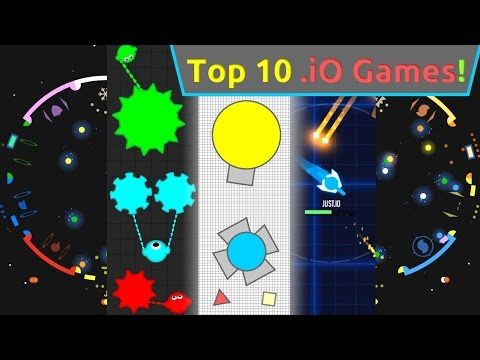 TOP 10 .iO GAMES 2016!! DIEP.IO & MOPE.IO & OPKA.IO & GUNR.IO!! Halloween Special!!