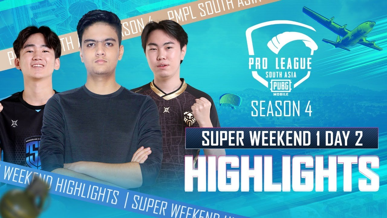 [Highlights] PMPL South Asia Season 4 | Super Weekend Week 1- Day 2