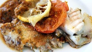Baked Fish with Moroccan Charmoula Recipe - CookingWithAlia - Episode 295