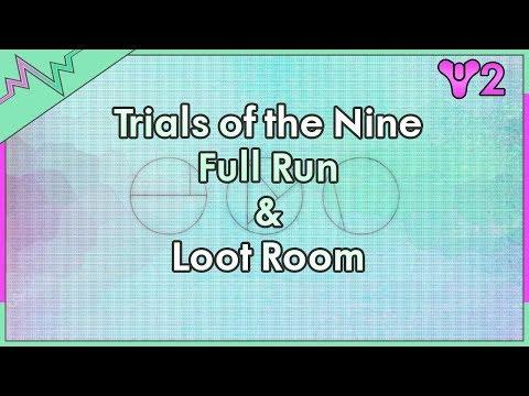 Trials of the Nine FULL Run & Spire (loot) Room