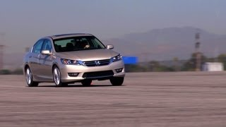 2013 Honda Accord EX | Track Tested | Edmunds.com