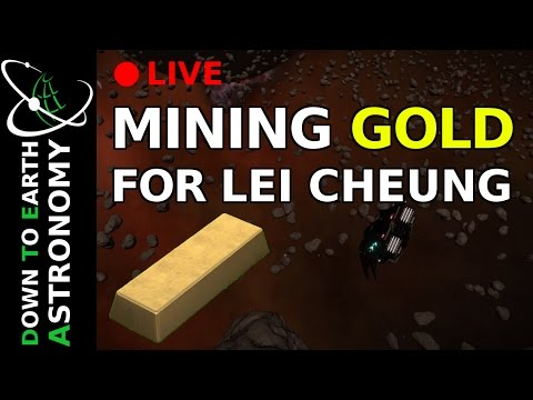 MINING GOLD FOR LEI CHEUNG WITH DOWN TO EARTH ASTRONOMY
