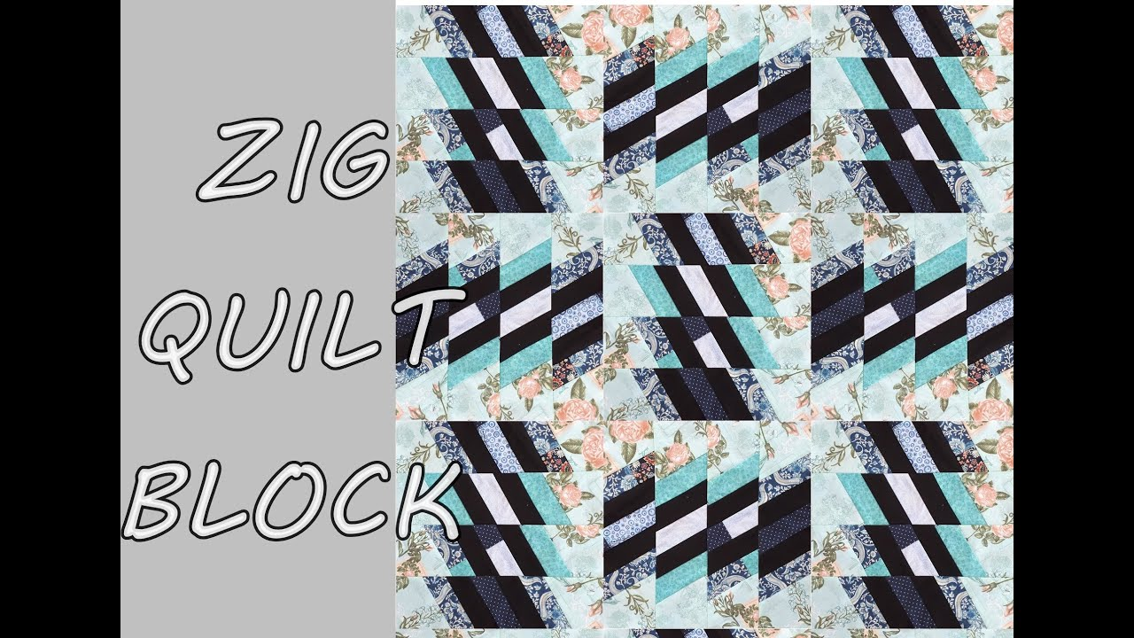 ZIG QUILT BLOCK