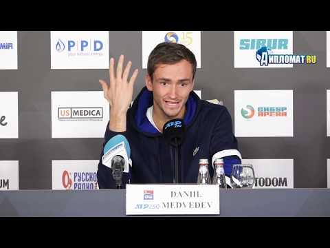 Даниил Медведев пробился в финал на пятом турнире подряд