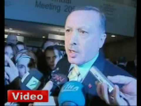 Erdogan: Benim icin Davos bitmistir
