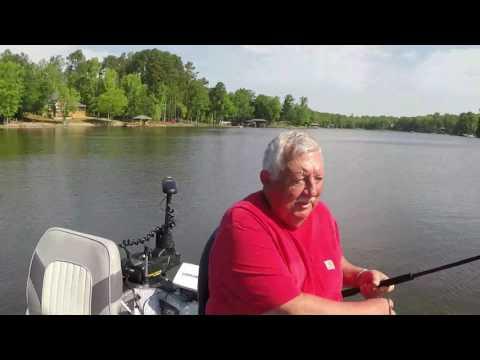 South Carolina Crappie.com Fishing Contest, Lake Wylie 4-22-2017