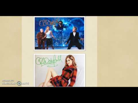 Celebrity Signings - New Autographs June '17