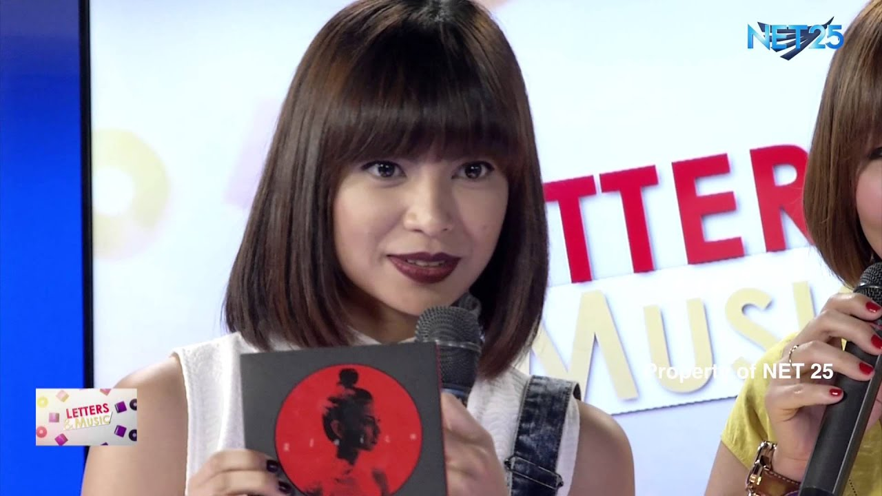 glaiza de castro net25 letters and music - the music corner - youtube