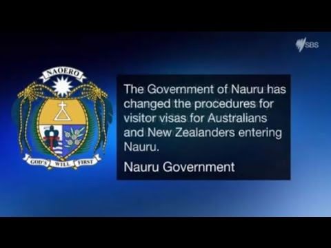 Confusion from @Republic_Nauru account over visitor visas for Australians & New Zealanders