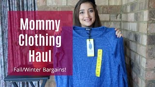 Fall/Winter Collective Clothing Haul (T.J. Maxx, Costco, Target and Marshalls)