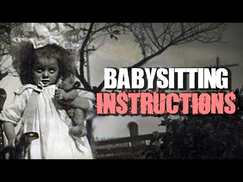 """Babysitting Instructions"" 