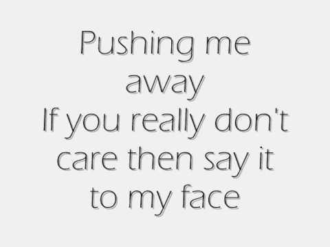 Pushing Me Away Lyrics + Song Download