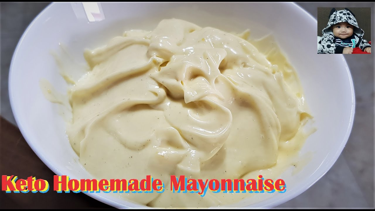 Homemade Mayonnaise No Mustard Mayonnaise Homemademayonnaise Pinoyfoodsg Youtube