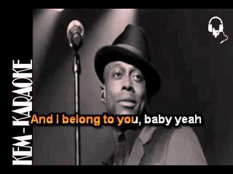 Kem  Nobody (Karaoke) NO BACKGROUND VOCALS