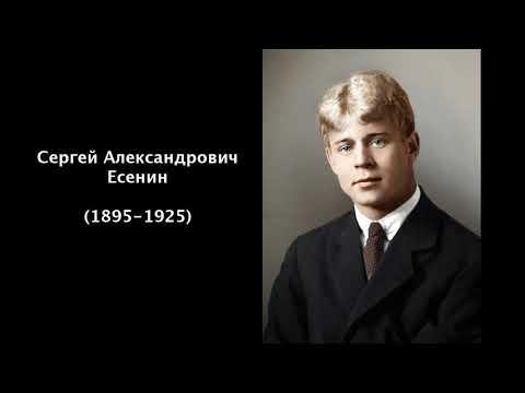 Сергей Александрович Есенин. Литература 5 класс.