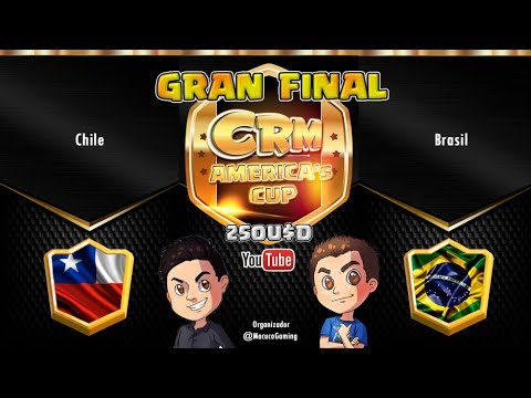 GRAN FINAL CHILE vs BRASIL | CRM America's Cup | Clash Royale en Español