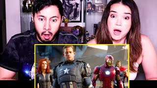 MARVEL'S AVENGERS: A-DAY | E3 2019 | Trailer Reaction!