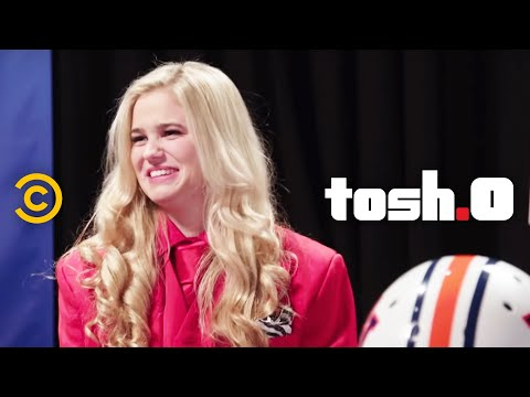 Tosh.0  Web Redemption  FootballtotheFace Girl