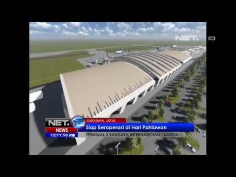 NET12 - Bandara Internasional Juanda Surabaya Mengadopsi Bandara Icheon Korsel
