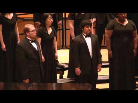 Colorado State University Chamber Choir: Madrigali by Morten Lauridsen