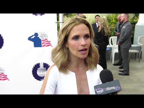 Sally Pressman , Army Wives , Veterans of All Nations Gala