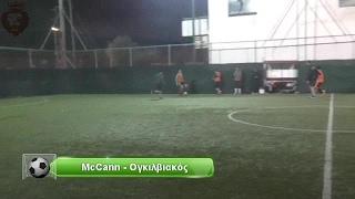 McCann vs Ογκιλβιακός