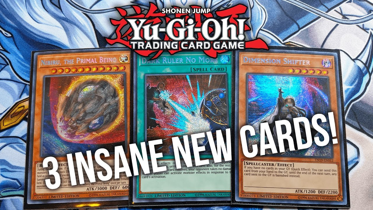 NEW Yu-Gi-Oh Gold Sarcophagus 2019 TCG Promo Cards! The Game is CHANGED!