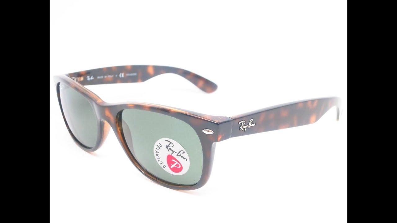 766679499a7 Ray-Ban RB 2132 New Wayfarer 902 58 Havana Polarized Sunglasses ...