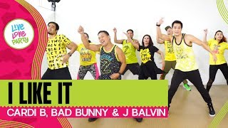 I Like It by Cardi B. | Live Love Party™ | Zumba® | Dance Fitness