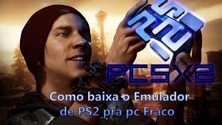 Como Baixa e Instala o melhor emulador de PS2 Para pc fraco   PCSX2