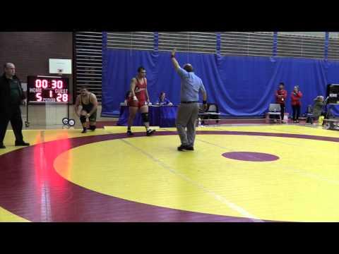 2015 Canada West Championships: 120 kg Kyle Nguyen vs. Luke Launderville