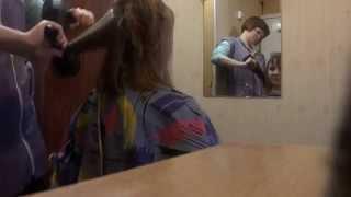 Стрижка каре с косой челкой в моем исполнении(Стрижка каре с косой челкой в моем исполнении.Снято скрытой камерой!, 2015-01-14T15:59:22.000Z)