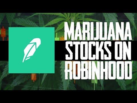 CAN YOU BUY MARIJUANA STOCKS ON ROBINHOOD IN 2018?