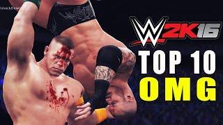 WWE 2K16 - TOP 10 OMG Finishers!!