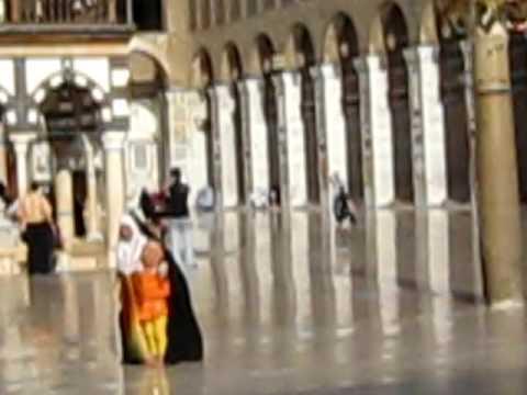 Inside Umayyad Mosque, Damascus