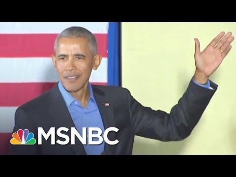 Download Youtube: Barack Obama Is Back! And Apparently Addressing Donald Trump Era | AM Joy | MSNBC