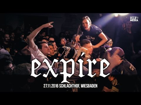 Expire - FULL HD LIVE SET - Wiesbaden, Germany - 27.11.16