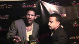 Entrevista a OMEGA El Fuerte en el Tropical Club de Passaic, NJ Dec 25, 2010 by NecioTV.com