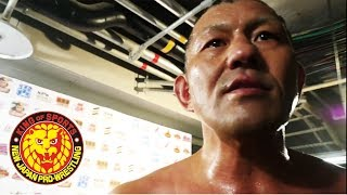 G1 CLIMAX 28 Night2 (July 15) - Post-match Interview [3rd match]