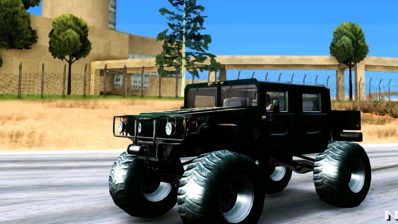 Hummer H1 Monster Truck TT GTA San Andreas