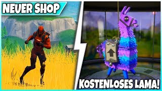 😱 2 FREE Llamas & VERTEX! 🛒 SHOP from TODAY: glider, pickaxe! - Fortnite Battle Royale