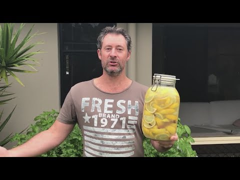 Making Preserved Limes