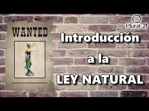 INTRODUCCIÓN A LA LEY NATURAL por José Luís Ruíz