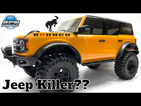 Jeep Killer?? New 2021 Ford Bronco 4-Door - Traxxas TRX-4 | Where Have I Been???