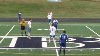 Acton Boxborough Varsity Boys Soccer vs Bedford 9/9/14