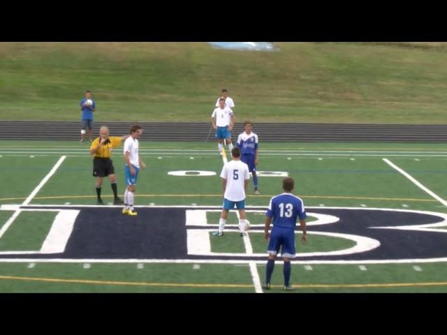 Acton Boxborough Varsity Boys Soccer vs Bedford 9/9/14